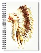 Arapaho War Bonnet Spiral Notebook