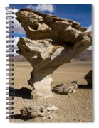 Arbol De Piedra Spiral Notebook