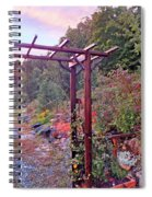 Arbor And Fall Colors 2 Spiral Notebook