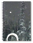 Arc De Neige  Spiral Notebook