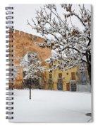 Arc Of Elvira While A Snowstorm Spiral Notebook