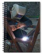 Arc Welder Spiral Notebook