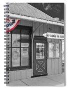 Arcade And Attica Depot Spiral Notebook