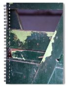 Arcadia Florida State Livestock Market Painted Door II Usa Spiral Notebook
