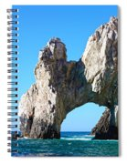 Arch At Land's End Spiral Notebook