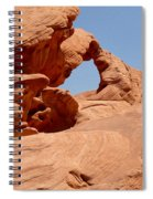 Arch At Valley Of Fire State Park Spiral Notebook