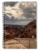 Arch Bridge And Hoover Dam Spiral Notebook