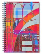 Arch Five  - Architecture Of New York City Spiral Notebook