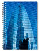 Arch In Glass Spiral Notebook