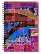 Arch One - Architecture Of New York City Spiral Notebook