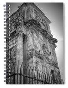 Arch Of Constantine Spiral Notebook