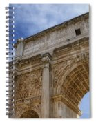 Arch Of Septimius Severus Spiral Notebook