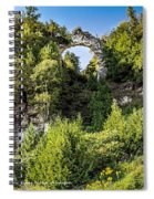 Arch Rock Mackinac Island Michigan Spiral Notebook