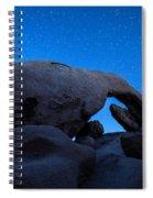 Arch Rock Starry Night 2 Spiral Notebook