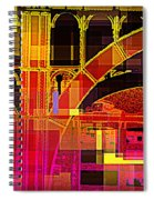Arch Three - Architecture Of New York City Spiral Notebook