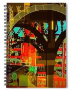 Arch Two - Architecture Of New York City Spiral Notebook