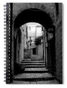 Arch Walkway Spiral Notebook