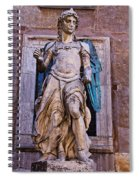 Archangel Michael Spiral Notebook