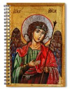 Archangel Michael Icon Spiral Notebook