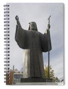 Archbishop Damaskinos Papandreou Spiral Notebook