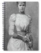 Archduchess Marie Valerie Of Austria Spiral Notebook