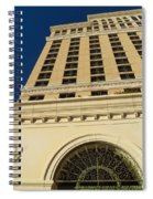 Arched In Iron Spiral Notebook