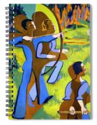 Archery Spiral Notebook