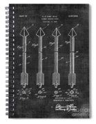 Archery Hunting Arrows Patent Spiral Notebook