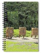 Archery Range Spiral Notebook