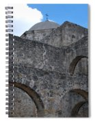 Arches And A Cross Spiral Notebook