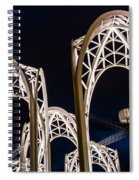 Arches And Angles 1 Spiral Notebook