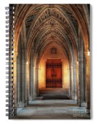 Arches At Duke Chapel Spiral Notebook