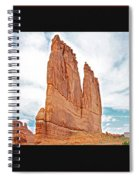 Arches National Park Panel Spiral Notebook