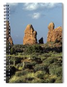 Arches National Park Sunrise Rock Formations  Spiral Notebook