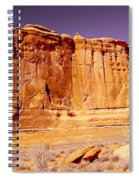 Arches Wall Spiral Notebook