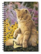 Archibald And Friend Spiral Notebook