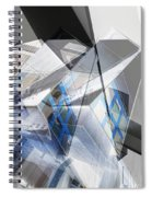 Architectural Abstract Spiral Notebook