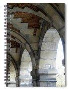 Architectural Artwork At Place De Vosges Spiral Notebook