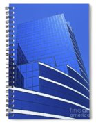 Architectural Blues Spiral Notebook