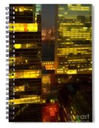 Architectural Fantasy - Perspective And Color Spiral Notebook