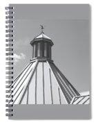 Architectural Gray Spiral Notebook
