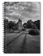 Architectural Treasure Bw Spiral Notebook