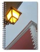 Architecture And Lantern 3 Spiral Notebook