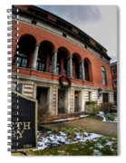 Architecture And Places In The Q.c. Series 01 The Twentieth Century Club Spiral Notebook