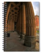 Architecture And Places In The Q.c. Series 03 City Hall Spiral Notebook