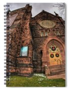 Architecture And Places In The Q.c. Series 03 Trinity Episcopal Church Spiral Notebook
