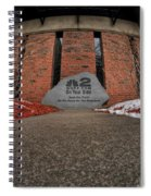 Architecture And Places In The Q.c. Series 2 On Your Side Spiral Notebook