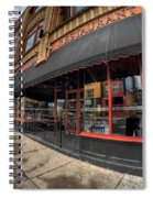 Architecture And Places In The Q.c. Series Bacchus Restaurant Spiral Notebook