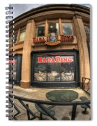 Architecture And Places In The Q.c. Series Badabing Spiral Notebook