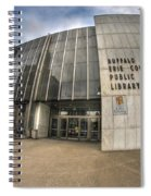Architecture And Places In The Q.c. Series Becpl Spiral Notebook